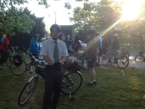 Dr. Robert Lam from Bike to Work Day 2013