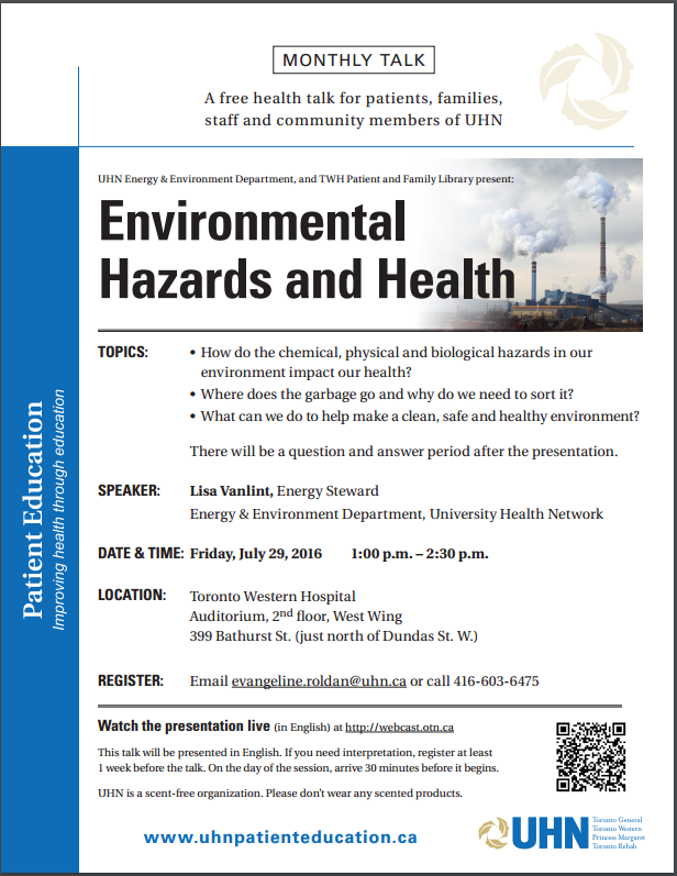 EnvironmentalHazardsandHealthMonthlyTalk-July2016