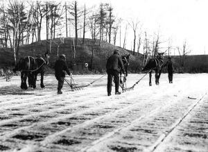 Ice Ploughs - Grenadier Pond