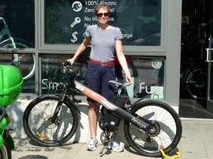 Ruth takes home the Grand Prize eBike