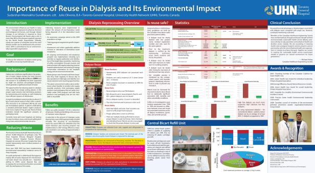 Importance Reuse in Dialysis & Enviro Impact - poster final