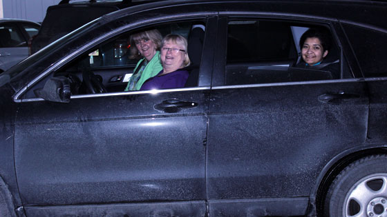 Carpool-Patricia Hall, Nayana Sondi, Isobel Anderson