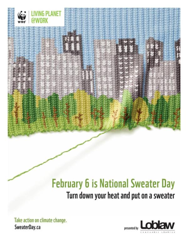 Sweater Day by WWF