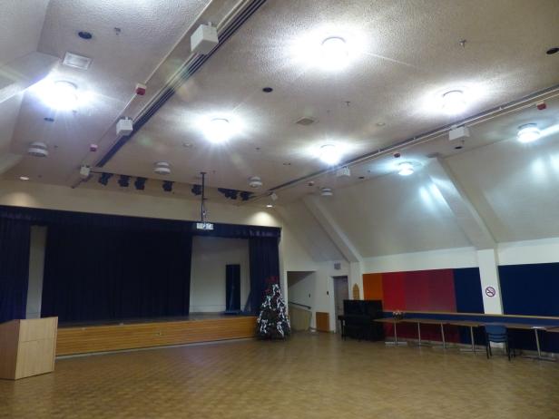 Bickle Auditorium Before