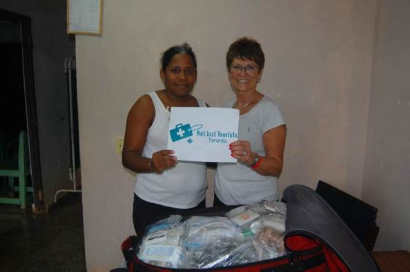 Operation Green supplies reach Cuba thanks to Margo from our own PMH Foundation! She carried a suitcase for Not Just Tourists.