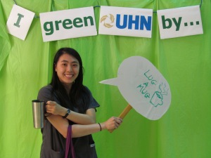 Lugging a Mug, EarthWeek PMH