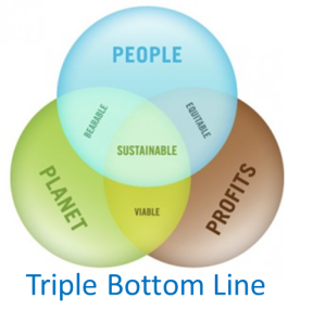 Triple Bottom Line  image credit: greenbly.com