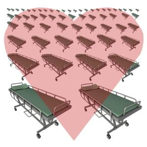 Hospital beds with heart :)