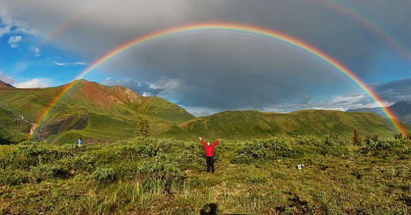 May your year be filled with double rainbows (image credit: Wikipedia)