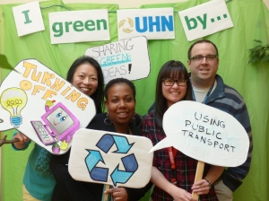 Earth Week at UHN-TRI