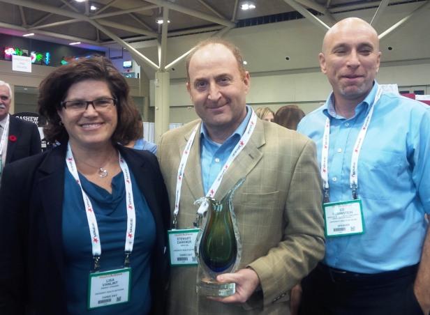 Lisa Vanlint, Stewart Dankner & Ed Rubinstein can't stop smiling