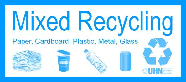 Mixed recycling label coming soon to PMH