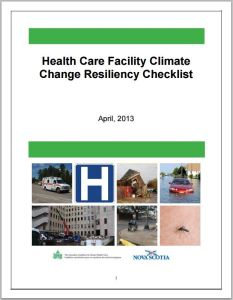 Canadian Coalition for Green Health Care Toolkit