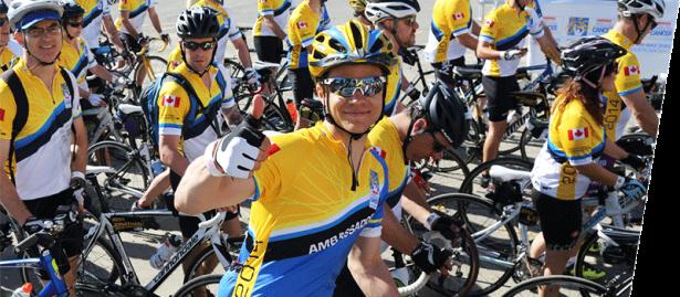 Enbridge ride to conquer cancer
