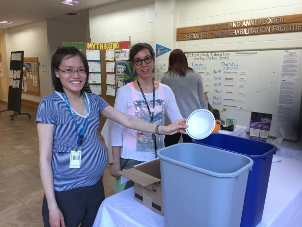 Day 6 started at Lyndhurst ... lots of fun teaching the recycling game for generations to come!