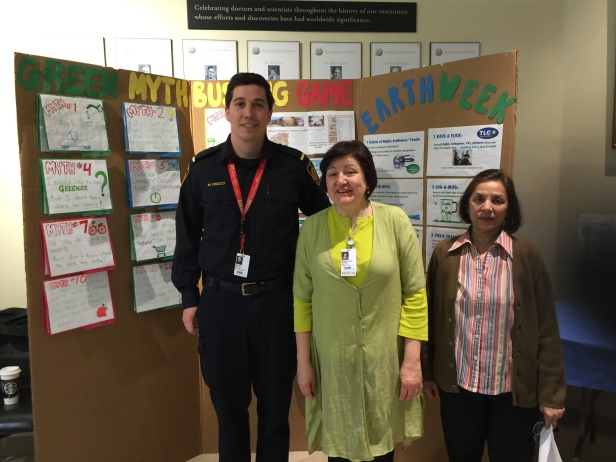 2016 Earth Week at Toronto General with Michael, Maria and Christine