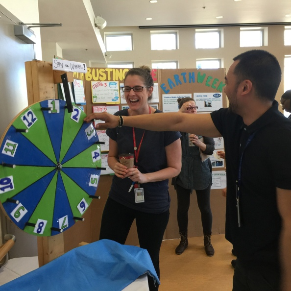 Spinning the Wheel at Toronto Rehab, University Centre ... the first day