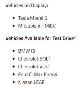 Plug'n Drive Vehicles
