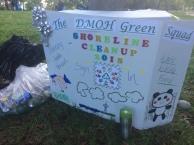 DMOH Green Squad shoreline sign