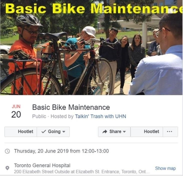 Celebrating Bike Month | Talkin' Trash With UHN