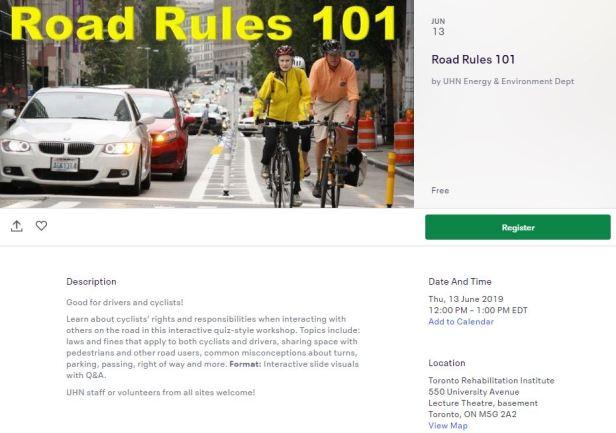 Road Rules Eventbrite